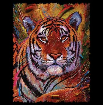 TIGER PAINTED (613A)