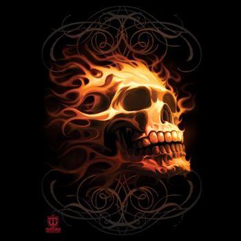 FIRE SKULL (614)