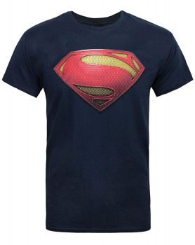 T-PAITA - SUPERMAN - MAN OF STEEL LOGO (LF8455)