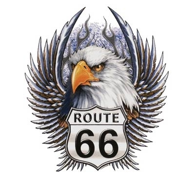 PAINATUS: Eagle & Route 66 (677)