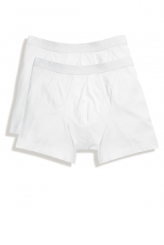 CLASSIC BOXER 2-PACK White