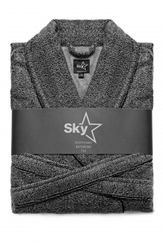 SNOW PRINT KYLPYTAKKI Dark Grey - Black