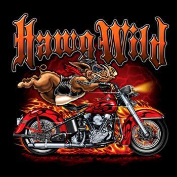 HIHATON PAITA MUSTA - HAWG WILD BIKE (784)