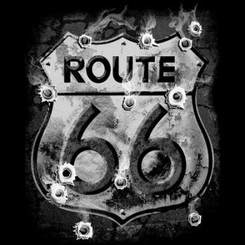 ROUTE 66 BULLET HOLES (795)