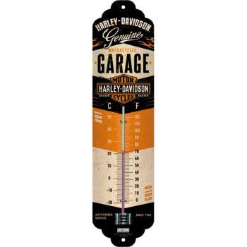 Lämpömittari Harley-Davidson Garage