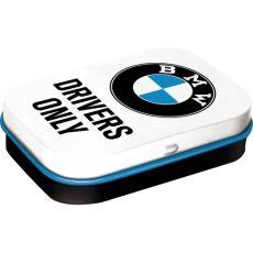 Pastillirasia XL  BMW Drivers Only valkoinen
