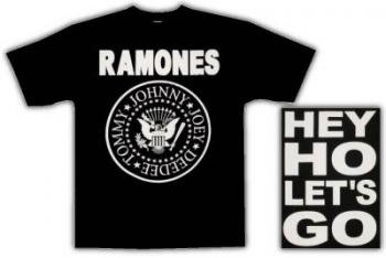 T-PAITA - RAMONES -Hey HO Lets GO (83702)