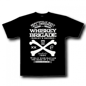 T-PAITA - WHISKEY BRIGADE - STEADY CLOTHING (86466)