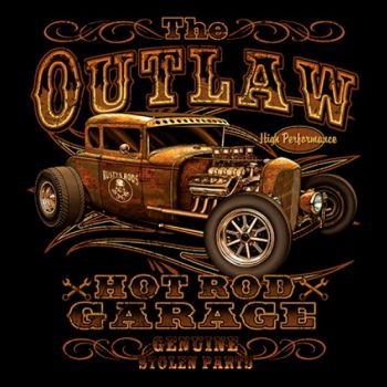 OUTLAW HOT ROD GARAGE (864)