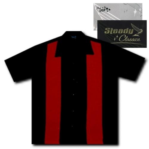KAULUSPAITA - PUNAISET PANEELIT - STEADY CLOTHING (86872)