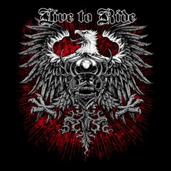 LIVE TO RIDE CUSTOM EAGLE (885)