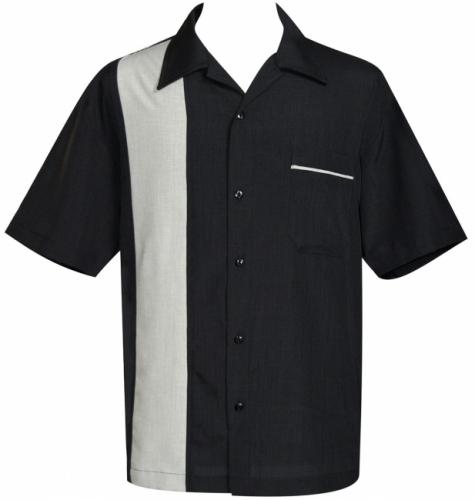KAULUSPAITA - POP CHECK (black/sage) - STEADY CLOTHING (89033)