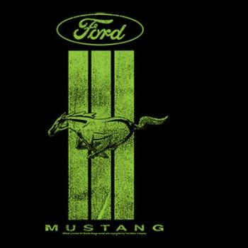 GREEN MUSTANG STRIPE (916)
