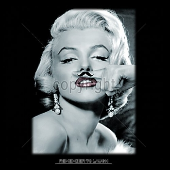 MARILYN WITH MUSTACHE (981A)