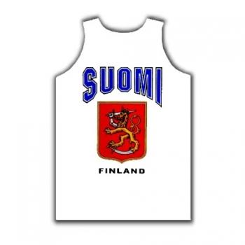 SUOMI - Hihaton valkoinen
