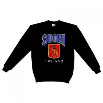 Suomi - College musta
