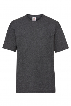 LASTEN VALUEWEIGHT T-PAITA Dark Heather Grey