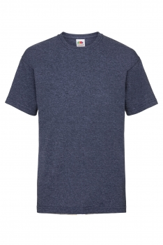 LASTEN VALUEWEIGHT T-PAITA Heather Navy