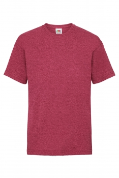 LASTEN VALUEWEIGHT T-PAITA Heather Red