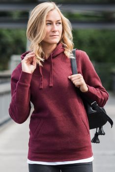 NAISTEN AUTHENTIC MELANGE HUPPARI Burgundy Melange