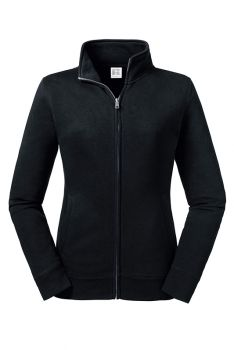 NAISTEN AUTHENTIC COLLEGE FULL ZIP Black