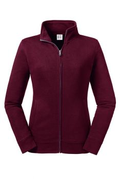 NAISTEN AUTHENTIC COLLEGE FULL ZIP Burgundy