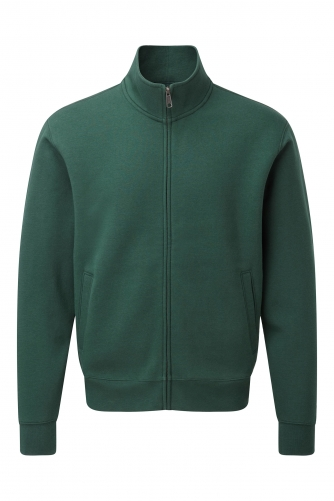 AUTHENTIC COLLEGE FULL ZIP Bottle Green
