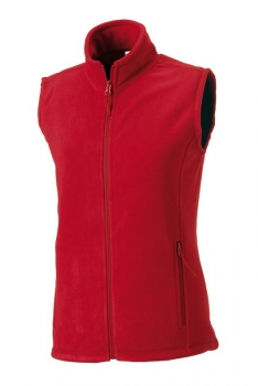 NAISTEN OUTDOOR FLEECELIIVI Classic Red