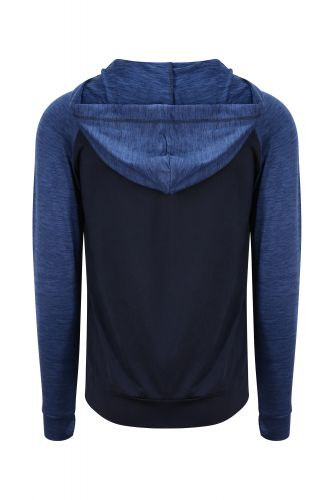 COOL CONTRAST ZOODIE Navy Melange
