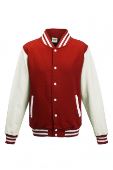 LASTEN VARSITY BASEBALL COLLEGETAKKI Fire Red - White