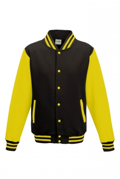 LASTEN VARSITY BASEBALL COLLEGETAKKI Black - Sun Yellow