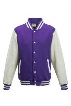 LASTEN VARSITY BASEBALL COLLEGETAKKI Purple - White