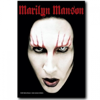 SEINÄLIPPU - MARILYN MANSON - HEAD SHOT (LF5010)