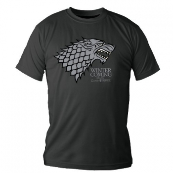 T-PAITA - GAME OF THRONES - LOGO STARK (LF8007)