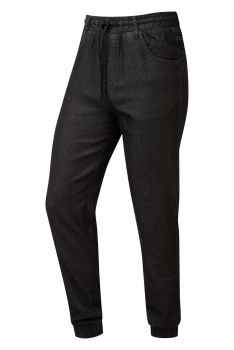 CHEF'S ARTISAN JOGGERS Black Denim