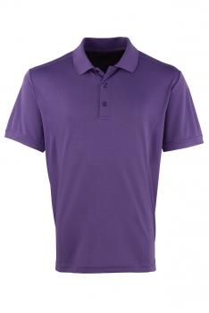 COOLCHECKER TEKNINEN PIKEE Purple
