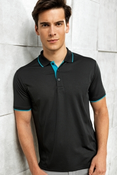 CONTRAST COOLCHECKER TEKNINEN PIKEE Black - Turquoise