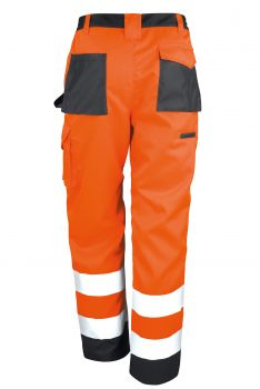 SAFETY CARGO HOUSUT Fluorescent Orange