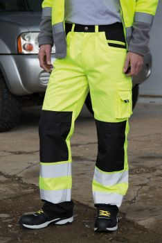SAFETY CARGO HOUSUT Fluorescent Yellow