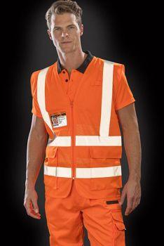 EXECUTIVE COOL MESH HEIJASTINLIIVI Fluorescent Orange