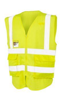 EXECUTIVE COOL MESH HEIJASTINLIIVI Fluorescent Yellow