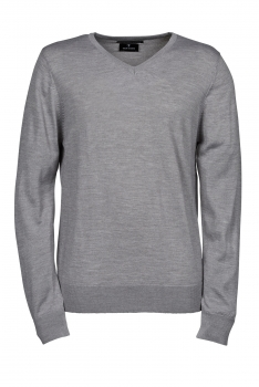 V-AUKKO NEULE Light Grey