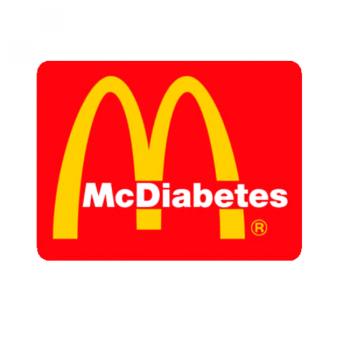 HUPPARI - Mc Diabetes musta