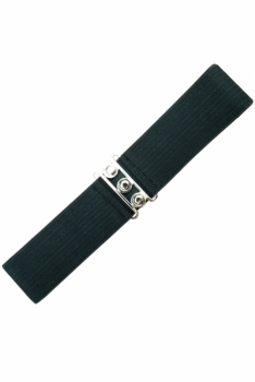 Vintage Stretch Belt - Musta - Banned