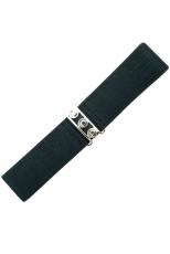 Vintage Stretch Belt - Musta - Banned
