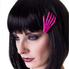 HIUSKLIPSI - Skeleton Hand Pink