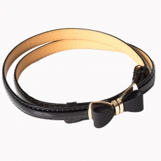 OCEAN AVENUE BELT - black - Banned