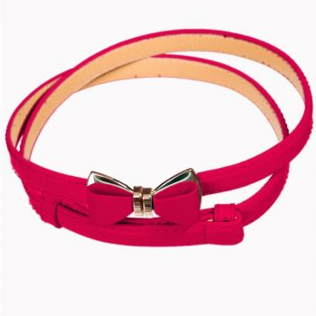 OCEAN AVENUE BELT - FLAMINGO - Banned