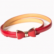 OCEAN AVENUE BELT - RED - Banned