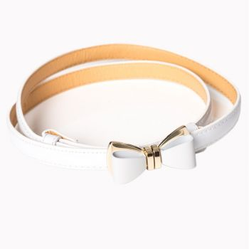 OCEAN AVENUE BELT - white - Banned